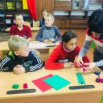 Завітаймо на урок! Трудове навчання (4 — А клас) «Виготовлення закладки для книги способом плетіння»