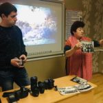 «Зустріч у світлиці» з фотографом Федорчуком О.Л.  «З чого починається фотографія»
