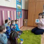 Завітаймо на урок! Урок англійської мови  з учнями 1- Б класу на тему «Вчимо букви Gg Hh»